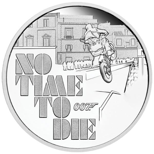 James Bond - No Time To Die Münze